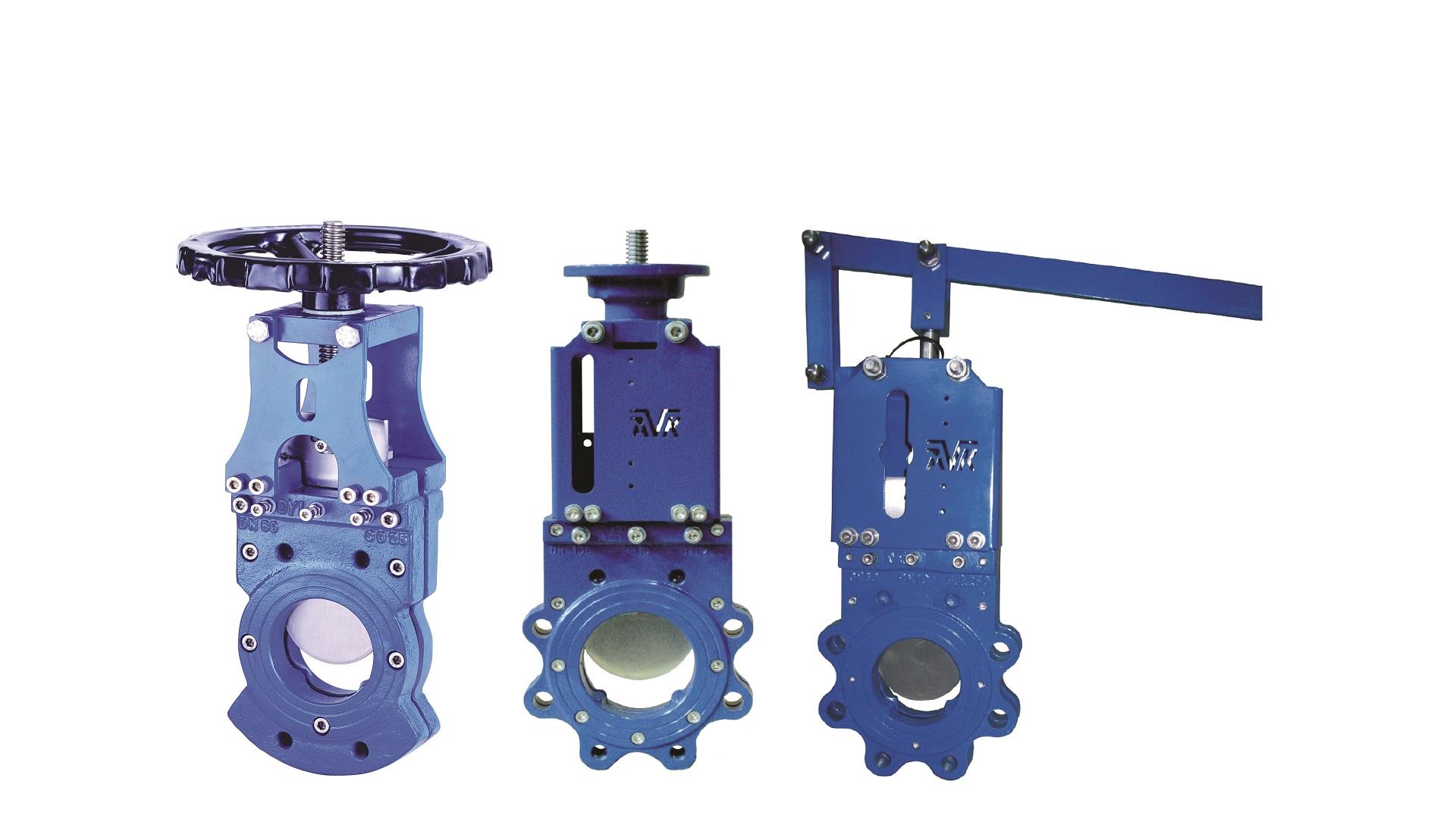 AVK knife gate valves