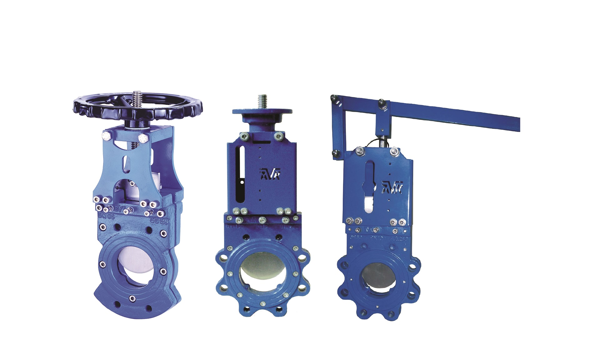 AVK knife gate valves