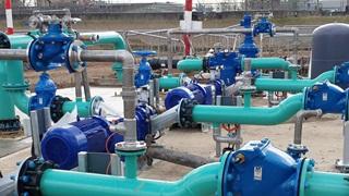 AVK valves installation