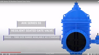 AVK Series 55 Resilient Seated Wedge Gate Valves