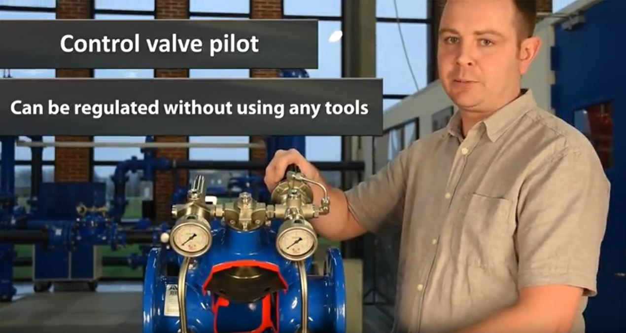 AVK Control Valves Design Featues Benefits